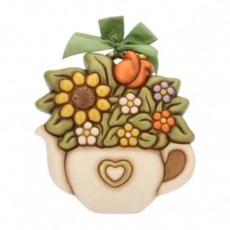 Formella grande mazzo di fiori thun idea regalo design for Design del mazzo online