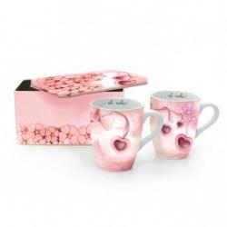 Confezione 2 mug Amore in box latta - Thun