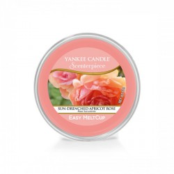 Sun-Drenched Apricot Rose, Ricarica MeltCup per profumatore elettrico Scenterpiece - Yankee Candle