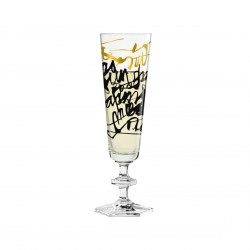 "Bicchiere champagne ""Champus"", Nerodiseppia - Ritzenhoff"