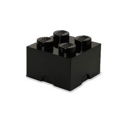 Contenitore Brick 4 bottoni, Nero - Lego