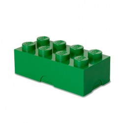 Contenitore Lunch Box 8 bottoni, Verde - Lego