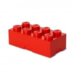 Contenitore Lunch Box 8 bottoni, Rosso - Lego