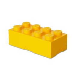 Contenitore Lunch Box 8 bottoni, Giallo - Lego
