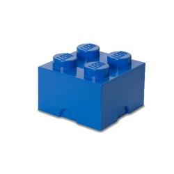Contenitore Brick 4 bottoni, Blu - Lego