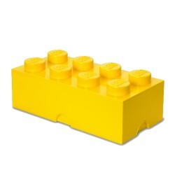 Contenitore Brick 8 bottoni, Giallo - Lego