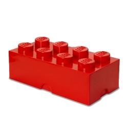 Contenitore Brick 8 bottoni, Rosso - Lego