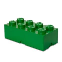 Contenitore Brick 8 bottoni, Verde - Lego