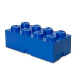 Contenitore Brick 8 bottoni, Blu - Lego