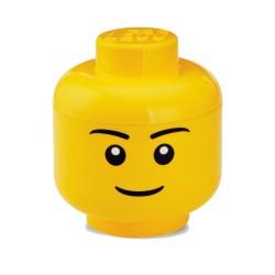 Contenitore Testa uomo grande - Lego