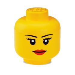Contenitore Testa donna grande - Lego