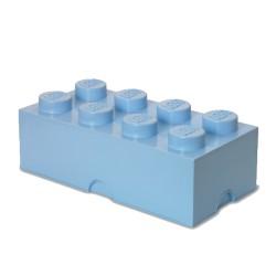 Contenitore Brick 8 bottoni, Azzurro - Lego