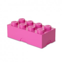 Contenitore Lunch Box 8 bottoni, Baby Pink - Lego