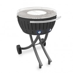 Barbecue a carbone XXL con ruote, antracite - Lotus Grill
