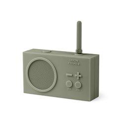Tykho 2 radio ricaricabile, Grigio - Lexon