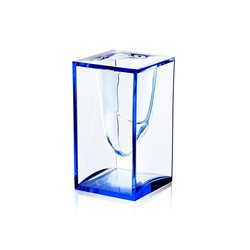 Liquid barattolo portapenna, Blu - Lexon