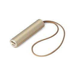 Fine tube power bank, Oro - Lexon