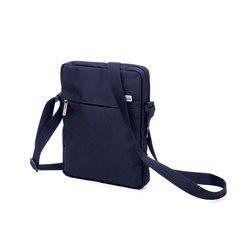 Premiunm borsa porta tablet con tracolla, Blu - Lexon