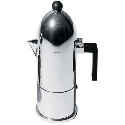 La cupola, Caffettiera espresso. Tazze n° 3 - Alessi
