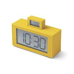 Inout sveglia doppio display, Giallo - Lexon
