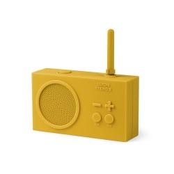 Tykho 2 radio ricaricabile, Giallo - Lexon