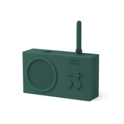 Tykho 2 radio ricaricabile, Verde scuro - Lexon