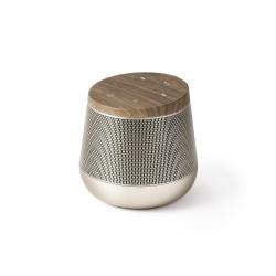 Miami sound speaker, Oro/Legno - Lexon