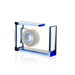 Roll air dispenser per nastro adesivo, Blu - Lexon