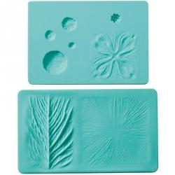 Stampo silicone venature foglia/fiore - Wilton