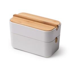 Zen cofanetto porta cotone, Bianco - Lexon