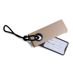 Neo porta etichetta per valigia, Oro - Lexon