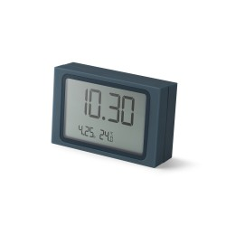 Slide orologio a scorrimento, Blu scuro - Lexon