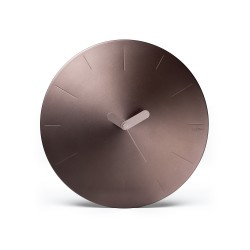 Conic orologio da parete in Alluminio, Marrone - Lexon