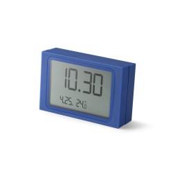 Slide orologio a scorrimento, Blu - Lexon