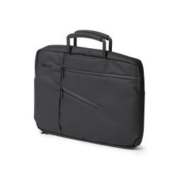 Challenger borsa porta pc/doc. nera, Nero - Lexon