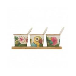 Set barattoli spezie piccolo, Ecoline - Thun