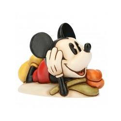 Mickey Mouse con tulipano Cm. 13 - Thun