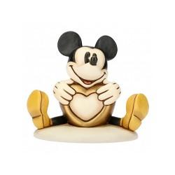 Mickey Mouse con cuore Cm. 13 - Thun