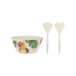 Set insalatiera con forchettone e cucchiaione, Ecoline - Thun