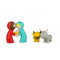 Happy eternity baby, 2 Statuine - Alessi