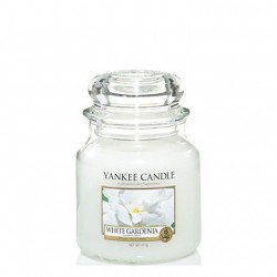 White Gardenia, Giara Media - Yankee Candle