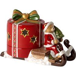 Christmas Light Slitta rossa orsacchiotto - Villeroy & Boch