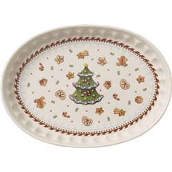 Winter Bakery Delight Piatto ovale Pan pepato - Villeroy & Boch