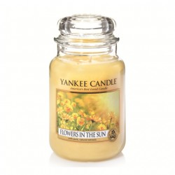 Flowers in the Sun, Giara Grande - Yankee Candle
