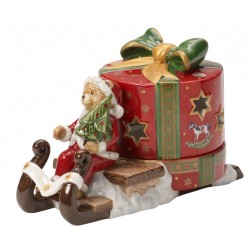Christmas Light Slitta con orsacchiotto - Villeroy & Boch