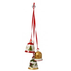 My Christmas Tree Ornamento a tre Campnella di Natale - Villeroy & Boch