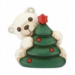 Orso polare con albero di Natale - Thun