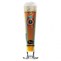 "Bicchiere birra ""Black Label"", Petra Mohr (Super) - Ritzenhoff"