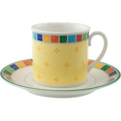 Twist Alea Limone Tazza caffe/te c.p.2pezzi - Villeroy & Boch