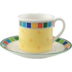 Twist Alea Limone Tazza espresso c.p.2pezzi - Villeroy & Boch